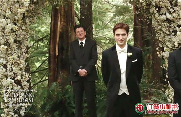《暮光之城4:破晓》婚礼现场照片首度曝光!